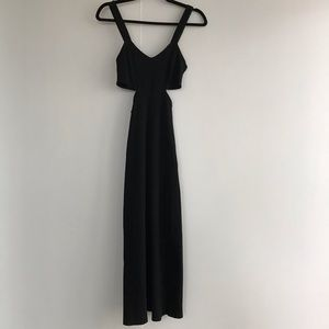 URBAN OUTFITTERS | CUTOUT FITTED MAXI DRESS